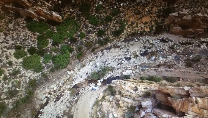 SWARTBERG PASS REPAIRS AFTER FLASH FLOODS